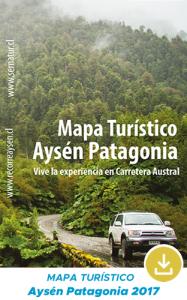 Mapa Turistico Aysén Patagonia 2017 (SERNATUR)